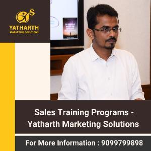 Sales Training Programs - Yatharth Marketing Solutions, 51, Second Floor, 16th Cross, 4th Phase, JP Nagar, Bangalore, Karnataka 560078, Bangalore, Karnataka, Turorials :: Education