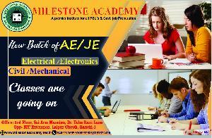 AE/JEexam Preparations By Milestone Academy, Ranchi, 3rd Floor, Sai Tower, Dr.usha Rani Lane Opp.bit Extension, LALPUR, RANCHI – 834001., Ranchi, Ranchi, Institutes :: Education