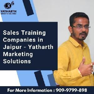 Sales Training Companies In Jaipur - Yatharth Marketing Solutions, 802 Amrapali Marg, D - Block, Hanuman Nagar, Jaipur, Rajasthan 302021, Jaipur, Rajasthan, Turorials :: Education