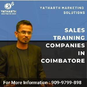 Sales Training Companies In Coimbatore - Yatharth Marketing Solutions, 702 Kobe Towers, Kamarajar Road, Peelamedu, Coimbatore - 641004, Coimbatore, Tamil Nadu, Turorials :: Education