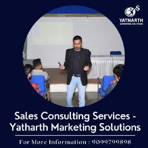 Sales Consulting Services - Yatharth Marketing Solutions, 51, Second Floor, 16th Cross, 4th Phase, JP Nagar, Bangalore, Karnataka 560078, Bangalore, Bangalore, Turorials :: Education